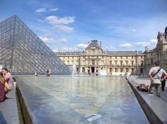 Le Louvre, un rêve qui j'avais réalisée :3