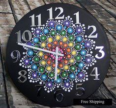 Gioiello goccia Mandala orologio