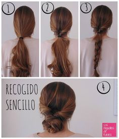 ideas for hair styles recogido sencillo Dark Hair Pale Skin, Curly Hair Styles, Natural Hair Styles, Bass, Long Natural Hair, Medium Hair Cuts, Hair Color Balayage, Diy Hairstyles, Hair Lengths