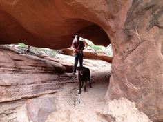 Dog Friendly Hiking in Moab, Utah