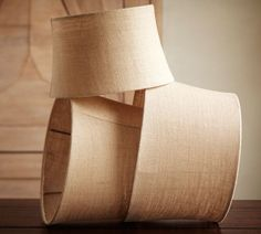 DIY burlap covered lamp shades, ok so where they put trim.....I am going to put rope top and bottom. 4 or 5 layers