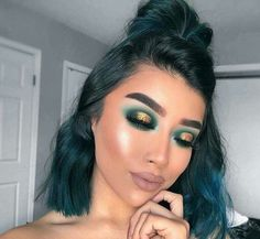 Gorgeous Makeup: Tips and Tricks With Eye Makeup and Eyeshadow – Makeup Design Ideas Glam Makeup, Cute Makeup, Gorgeous Makeup, Pretty Makeup, Skin Makeup, Makeup Inspo, Bridal Makeup, Makeup Geek, Makeup Salon
