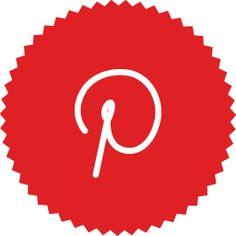 Pinterest Icon | Pinterest Icon | Minimalist Social Iconset | DesignBolts