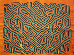 Kuna textile