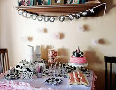 MooMoos & TuTus Themed Birthday Party via Kara's Party Ideas KarasPartyIdeas.com Cake, party supplies, banners, cupcakes, tutorials, giveaways and more! #cowparty #tutuparty #moomoosandtutus #cowbirthdayparty #girlpartyideas #cookiesandmilk #milkandcookies #karaspartyideas #partyplanning #partydesign (17)