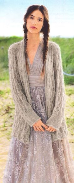 Bohemian Chic. Neckline's a little low for my taste, but otherwise, I dig it.