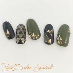 Show Your Creativity With Hand Painted Nail Art Designs Fancy Nails, Trendy Nails, Diy Nails, Beautiful Nail Art, Gorgeous Nails, Kaki Nails, Japan Nail, Asian Nails, Japanese Nail Art