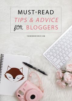 Tips & advice for bloggers
