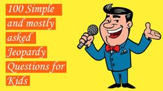 100 Jeopardy Questions for Kids [American Famous Game Show] Trivia Questions For Kids, Jeopardy Questions, 100 Questions, Circulatory System, Respiratory System, Earn Cash Online, Merv Griffin, Smoke Bomb Photography, Get Gift Cards