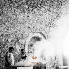The BBQ from Emily & Bernard's Castelnau des Fieumarcon wedding in Gascony #castelnaudesfieumarconwedding #weddingfood #weddingphotographersfrance