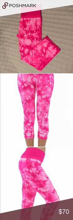 Hot Pink Electric Yoga Capri Pants The first picture is the pair I kept for myself.  Super comfortable & super fun! Electric Yoga Pants