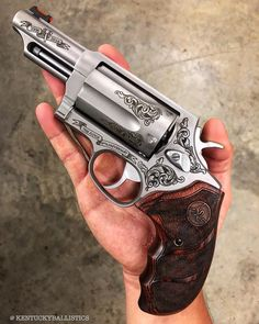 Everyone has their own preferences when it comes to self-defense weapons. Check out our top picks of the best self-defense guns for survival when SHTF! Self Defense Weapons, Weapons Guns, Guns And Ammo, Shooting Guns, Custom Guns, Fire Powers, Cool Guns, Arsenal, Firearms