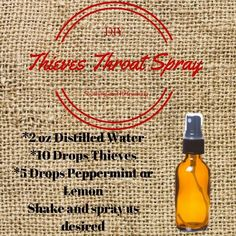 Theives Throat Spray