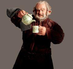 Dori (Mark Hadlow) is the proper dwarf.