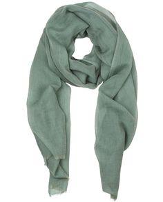 "Naledi Copenhagen ""Demure"" scarf  - soft calm and light green grey"
