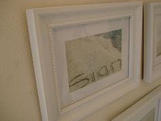 Affordable artwork - I love personalized artwork. Snap away at the beach, frame your loved one's name. Beach Frame, First Love, My Love, First Names, Artwork, Projects, Diy, Beautiful, Home Decor