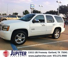 Thank you to Mr. Rodriguez Corona on your new 2013 Chevrolet Tahoe from Michelle Hooper and everyone at Jupiter Chevrolet!