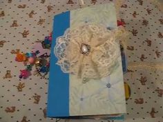 "Flip Through:Junk Journal of Memories ""Blue"""