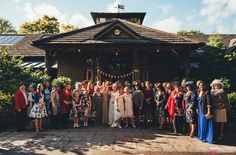 The Oak Tree of Peover wedding, drinks reception, groups
