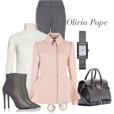 Olivia Pope., created by dgia on Polyvore