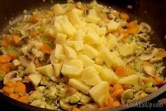 Γιουβαρλάκια με λεμονάτη κρέμα ⋆ Cook Eat Up! Pasta Salad, Meat, Ethnic Recipes, Food, Crab Pasta Salad, Essen, Meals, Yemek, Eten
