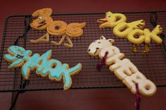 clever Word World cookies with a how-to