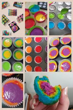 all you need is a box of yellow Mix and food coloring ( Thank you Salwa Elcahaer). 5th Birthday, Birthday Parties, Appetizer Recipes, Appetizers, Yummy Treats, Yummy Food, Food Coloring, Cup Cakes, All You Need Is