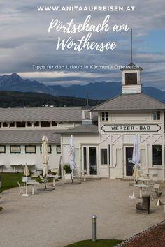 Wo du in Pörtschach so richtig gut entspannen kannst - das ganze Jahr über! Mit Strand und historischem Badehaus. Entdecke den Wörthersee von seiner schönsten Seite - die besten Tipps von Insidern jetzt direkt am Blog für den Urlaub in Kärnten bzw. Österreich. Plus: Sehenswürdigkeiten, Ausflugsziele und Übernachtungstipps.#kärnten #österreich #wörthersee #hotel #werzer #insidertipps #urlaub #alpen Bergen, Strand, Cooking Recipes, Mansions, House Styles, Blog, Europe, Fall Landscape, Ski Trips