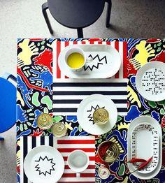 Zastawa stołowa z kolekcji IKEA i 10-gruppen - AVSIKTLIG