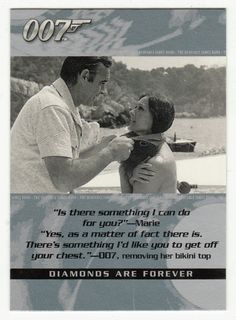 James Bond - The Quotable # 71 - Diamonds Are Forever