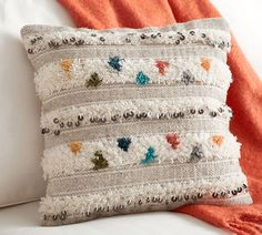 Lina Moroccan Wedding Blanket Pillow Cover