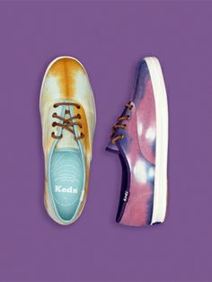 Hot on the heels of a springtime collaboration with Madewell, Keds has now produced killer tie-dye kicks exclusively for Urban Outfitters. Champion Sneakers, Keds Champion, Cute Shoes, Me Too Shoes, Awesome Shoes, Urban Outfitters, Couture, Shoe Closet, Urban Fashion