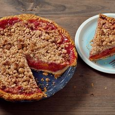 The Easiest Peach-Raspberry Pie with Press-In Crust