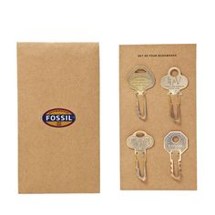 No need for dog-earing- we're marking our pages with our metal key bookmarks! #stockingstuffer
