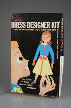 105.475: Junior Dress Designer Kit | play set 1959