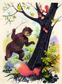 Anemone: Ileana Ceausu Pandele - Ursul pacalit de vulpe Harry Clarke, Maxfield Parrish, Aubrey Beardsley, Kay Nielsen, 1 John, Beatrix Potter, Ursula, Panda, Drawings