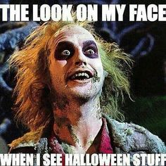 Halloween has increasingly become my favorite holiday over the years, even over Christmas. Love all the craziness.