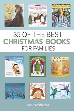 The best Christmas books for families. Over 35 of our absolute favorites! Christmas Books For Kids, Christmas Activities For Kids, Preschool Christmas, A Christmas Story, Christmas Themes, Christmas Fun, Holiday Ideas, Xmas, Best Toddler Books