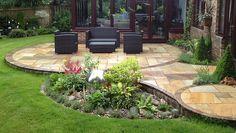 Garden And Patio Design - Double Scribble