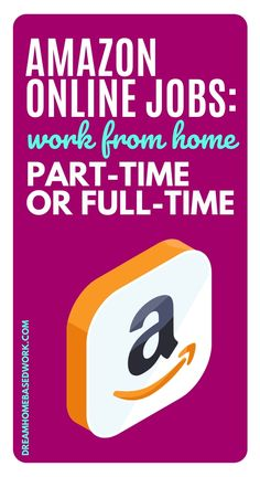 Amazon online jobs are the perfect way to earn money from home on your time with a great company. Here are the best full-time and part-time Amazon online jobs to choose from! #hiring #workathome #onlinejobs Online Business Opportunities, Work From Home Opportunities, Marketing Opportunities, Business Ideas, Work From Home Options, Work From Home Jobs, Ways To Earn Money, Earn Money From Home, Amazon Online Jobs