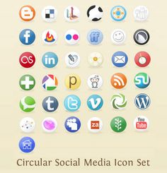 Free Social Media Icon Sets - Best Of