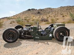 "1945 Jeep CJ-2A Army Rat Rod,,,""now this is niffty neato great!!!"""