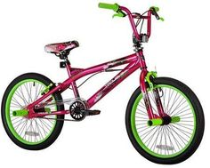 f7cfc73677c Kent, Trouble, BMX , Girls' Bike, Pink/Green cute bike from walmart for  your baby girl or teen