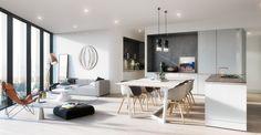 Aurora // 250 La Trobe Street, Melbourne // Client: UEM Sunrise // Architect & Interior Designer: Elenberg Fraser