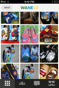 If I had these... Id be a very happy lady. I'm a disney Junkie. I cant help it!