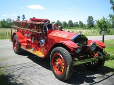American La France Fire Engine.
