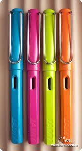 lamy fountain - quero todas as cores, ponta fina, média, grossa...