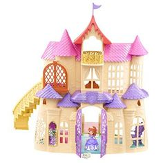"Disney Sofia the First Magical Talking Castle - Mattel Girls - Toys ""R"" Us 54.99"