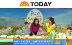 Easy Easter crafts for kids with Jodi Levine from Super Make It on The Today Show!