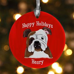 Top Dog Breeds Personalized Ornament